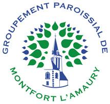 Logo paroisse Montfort l\'Amaury 78