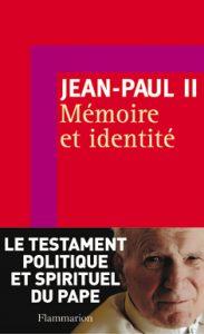 Mémoire et identité